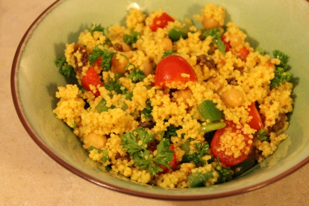 Couscous Salad - Candy Coated Culinista