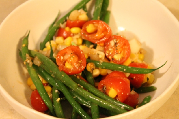 C.C.'s Green Beans Provencial - Candy Coated Culinista