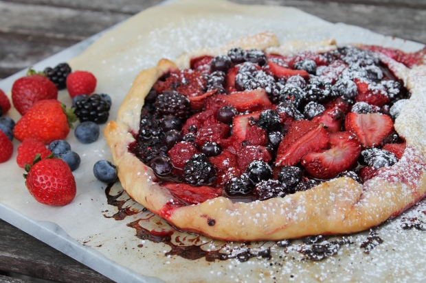 Very Berry Galette - Candy Coated Culinista