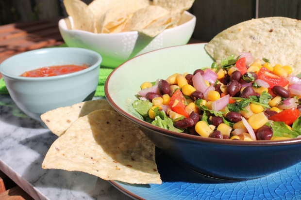 Black Bean & Corn Salad - Candy Coated Culinista