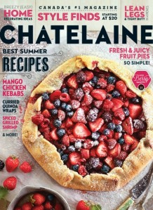 Chatelaine August Cover