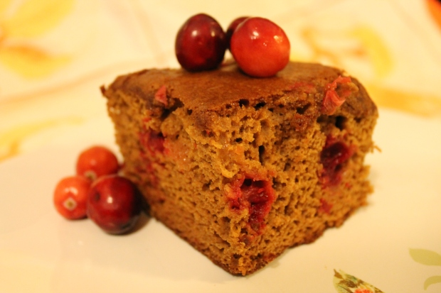 Cranberry Molasses Cake - Candy Coated Culinista