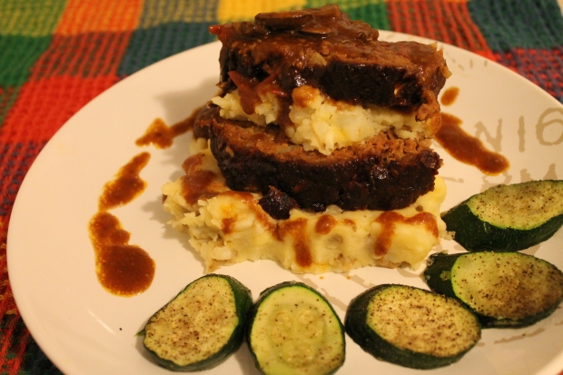 Meatloaf with Awesomesauce - Candy Coated Culinista