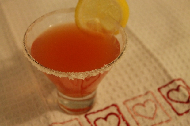 Valentine's Day Cocktail - Candy Coated Culinista