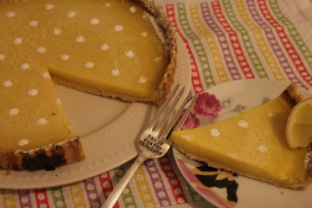 Lemon Tart - Candy Coated Culinista