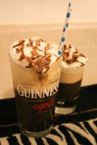 His & Her's Guinness Whiskey Floats - Candy Coated Culinista