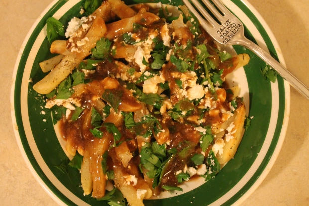 Greek Poutine - Candy Coated Culinista