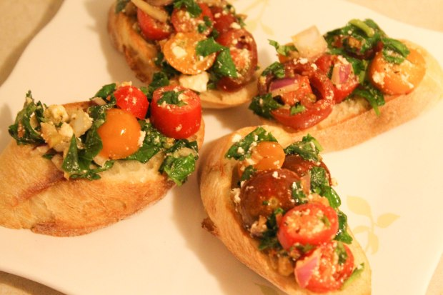 Bruschetta - Candy Coated Culinista