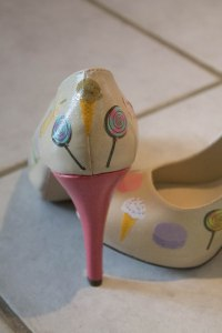 DIY Sweet Treats Peep-Toe Heels - Candy Coated Culinista
