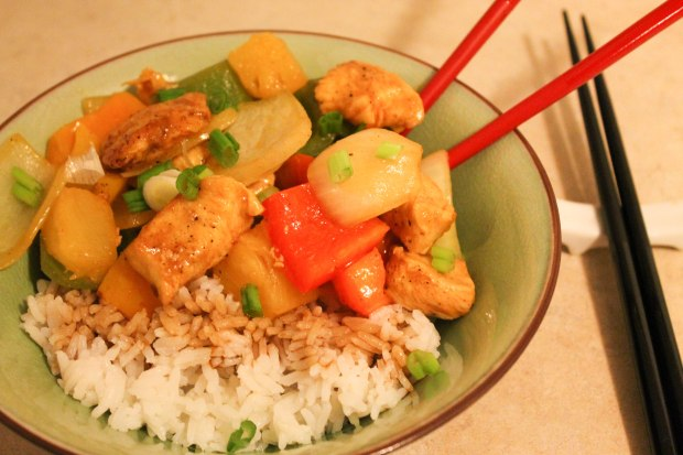 Sweet & Sour Chicken - Candy Coated Culinista