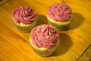 C.C.'s 100th Post - Candy Confetti Cupcakes - Candy Coated Culinista