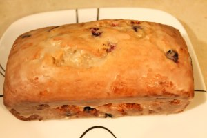 Lemon & Blueberry Yogurt Cake - Candy Coated Culinista