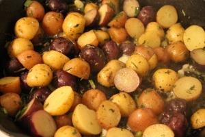 Salt & Vinegar Mini Jewel Potatoes - Candy Coated Culinista