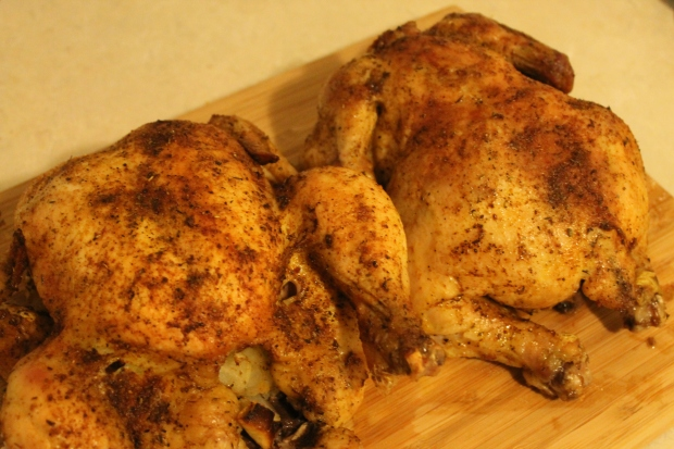 C.C.'s Special Chicken Rub & Stuffed Whole Organic Chicken - Candy Coated Culinista