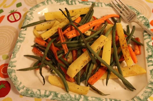 Roasted Rosemary Rutabaga & Veggies - Candy Coated Culinista