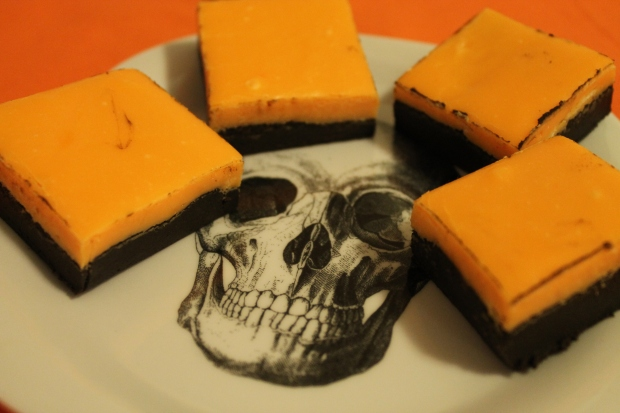 Halloween Fudge - Candy Coated Culinista