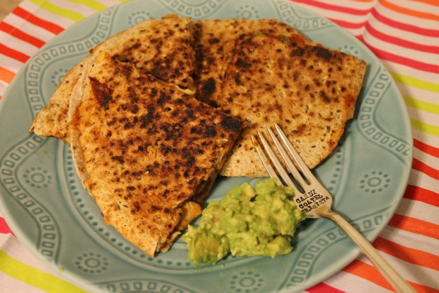 BBQ Chicken Whole & Ancient Grain Quesadillas - Candy Coated Culinista