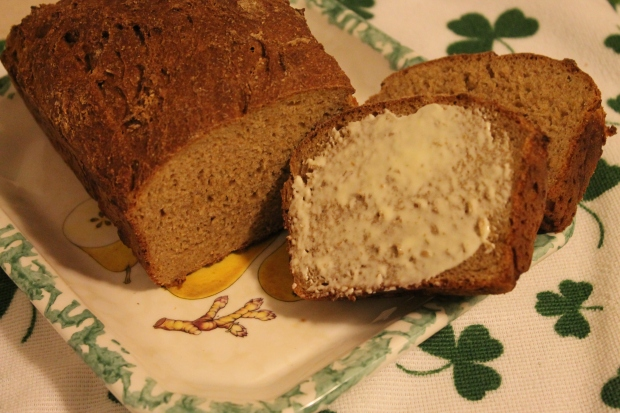 Salt-Free Irish Brown Bread - Candy Coated Culinista