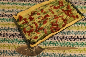 Uncooked - Asparagus Tart - Candy Coated Culinista