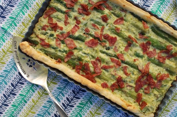 Asparagus Tart - Candy Coated Culinista