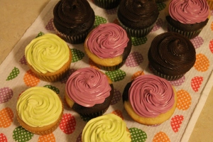 Cupcake Practice #3 - Candy Coated Culinista