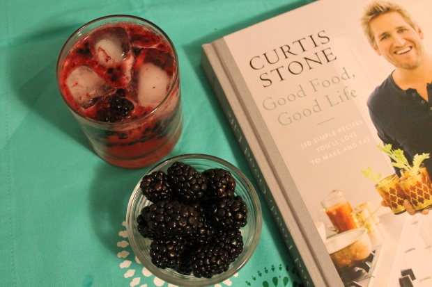 Curtis Stone & Fresh Blackberry Cocktail - Candy Coated Culinista