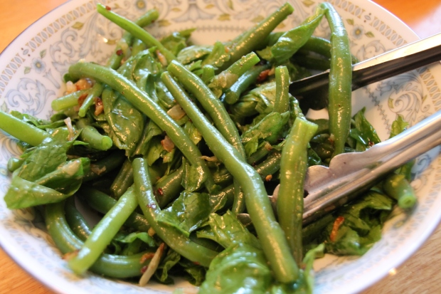 Green Beans with Mustard Seeds - Candy Coated Culinista