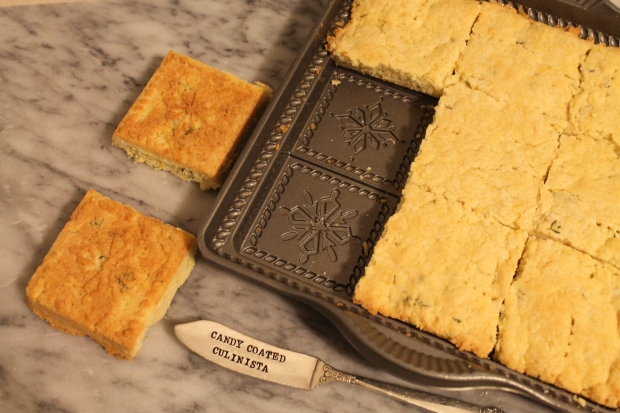 Lemony Letdown: Thyme Lemon Shortbread- Candy Coated Culinista