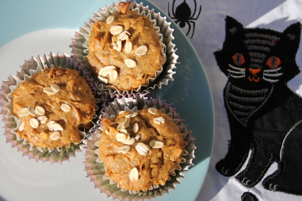Harvest Gluten Free Spiced Oatmeal Muffins - Candy Coated Culinista