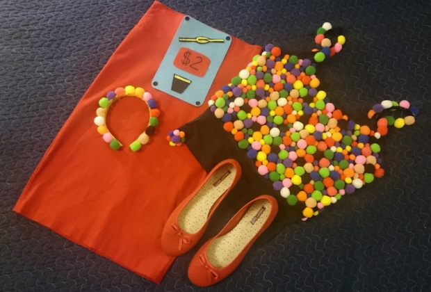 DIY Gumball Machine Costume - Candy Coated Culinista