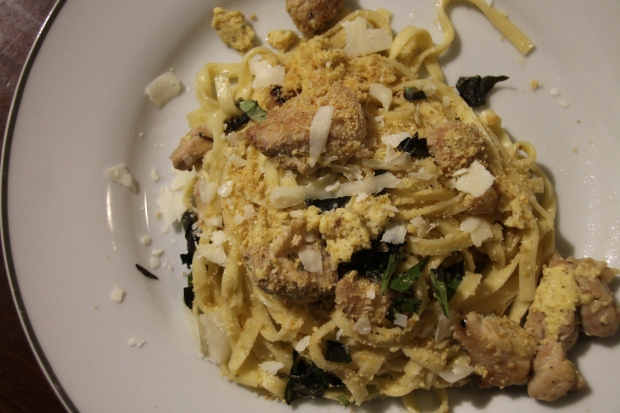 Chicken Carbonara - Chef's Plate - Candy Coated Culinista