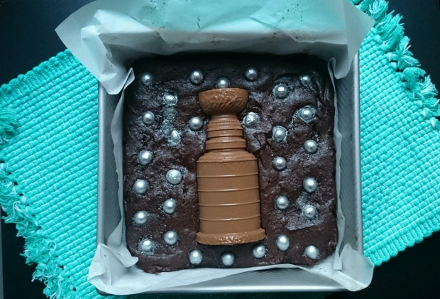 Stanley Cup Brownies - Candy Coated Culinista