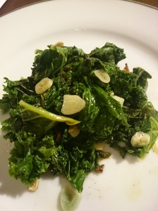 Lemony Kale - Candy Coated Culinista