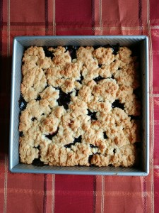 Crustless Blueberry Pie - Candy Coated Culinista