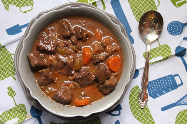 Julia Child's Boeuf Bourguignon - Candy Coated Culinista