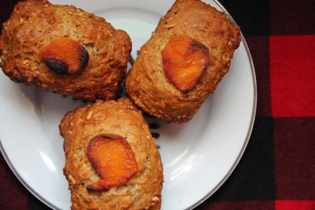 Mini Apricot Cardamon Banana Loaves - Candy Coated Culinista