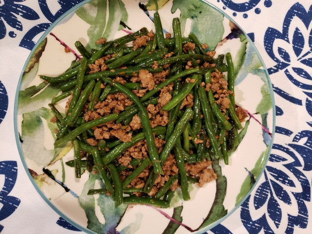 Dry-Fried Green Beans