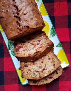 X is for … Raspberry & Peach Liqueur White Christmas Fruit Cake - Candy Coated Culinista