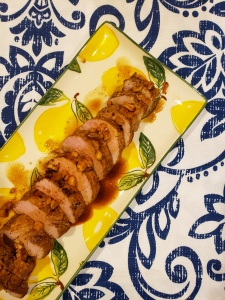 Suya-Spiced Pan-Roasted Pork Tenderloin - Candy Coated Culinista