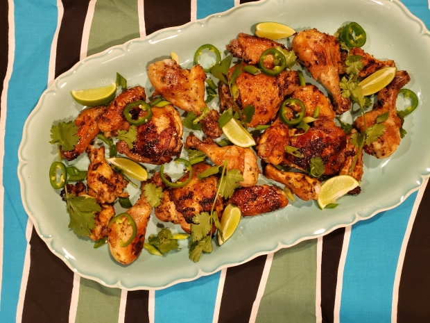 Grilled Herb-Marinated Chicken - Candy Coated Culinista