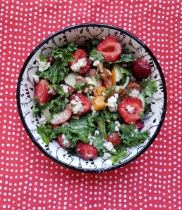 Robust Strawberry Salad - Candy Coated Culinista